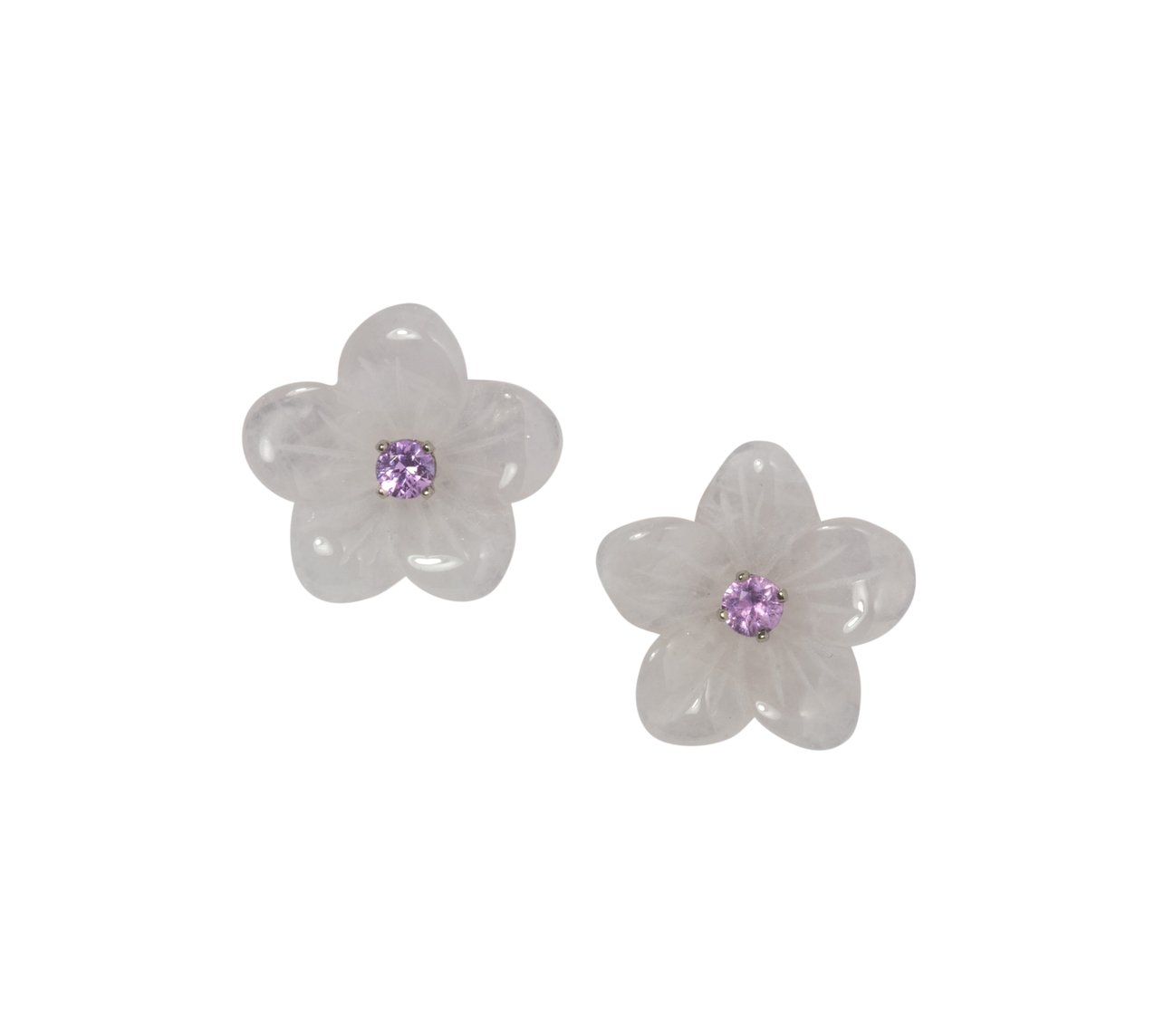 My Favorite Jewelry Designers For Unique Jewelry: The Mini Collection State Street Baby Flower Stud Earrings