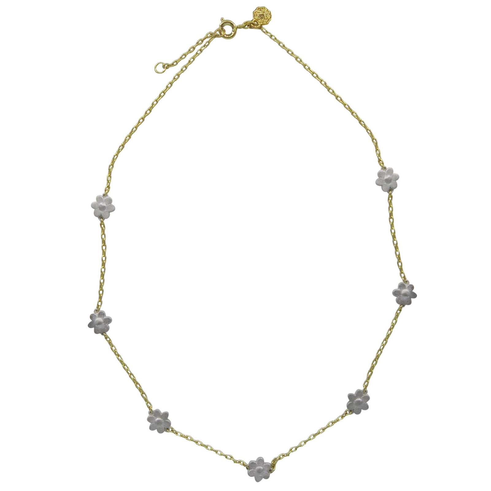 My Favorite Jewelry Designers For Unique Jewelry: Hart Hagerty Daisy Chain Necklace