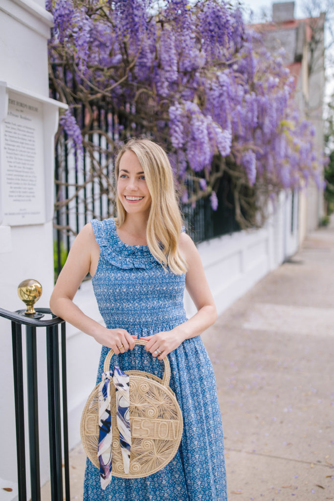 Wearing two of my favorite Charleston-Based fashion brands to support small businesses | Rhyme & Reason