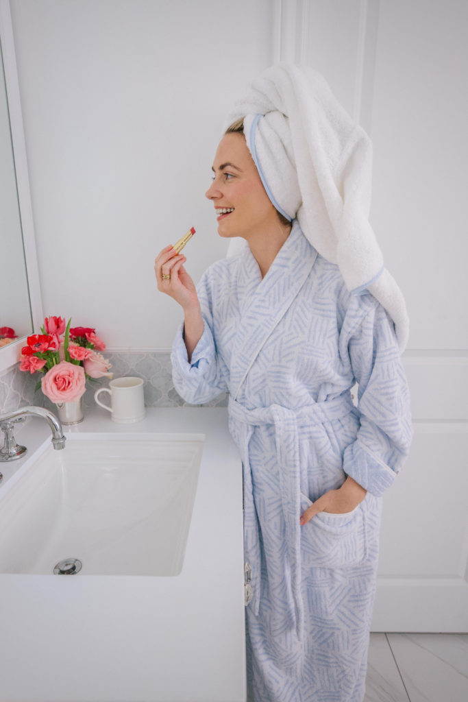 The best robes to get ready in from Weezie Towels   Rhyme & Reason