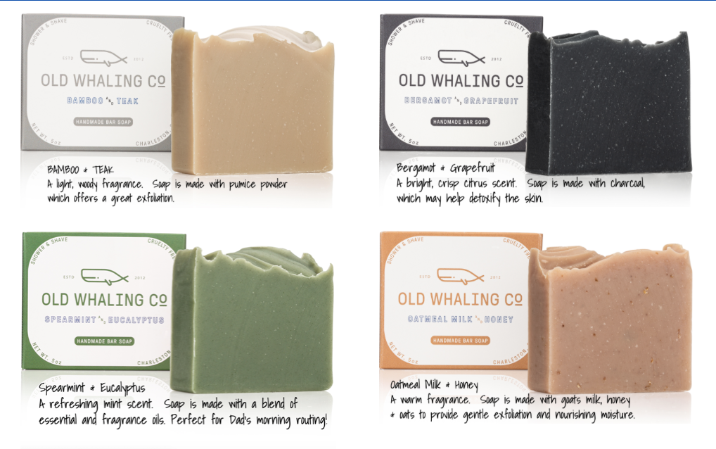 Old Whaling Co. Men's Soap | Father's Day Gift Guide 2020 on Rhyme & Reason