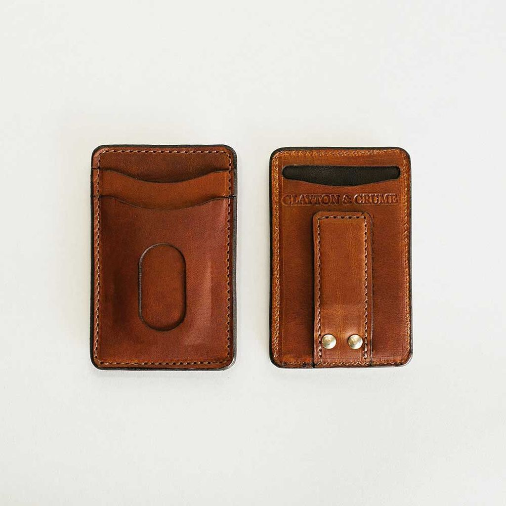 Clayton & Crume Money Clip Wallet | Father's Day Gift Guide 2020 on Rhyme & Reason
