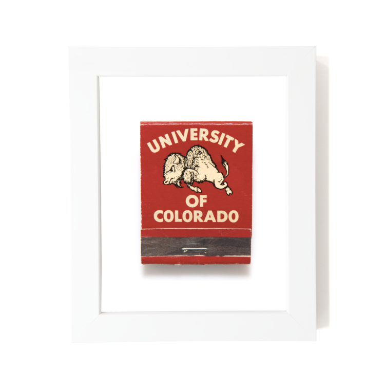 College Matchbook Print | Father's Day Gift Guide 2020 on Rhyme & Reason