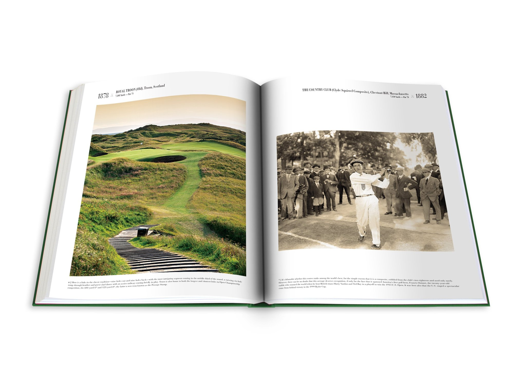 Golf The Impossible Collection Book | Father's Day Gift Guide 2020 on Rhyme & Reason