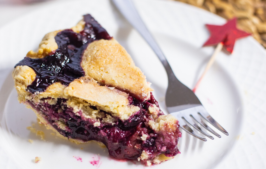 Summer Party Hostess Gifts: Southern Baked Pie Mixed Berry Pie