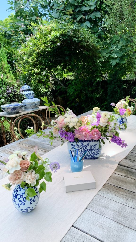 Floral themed baby shower ideas | Rhyme & Reason