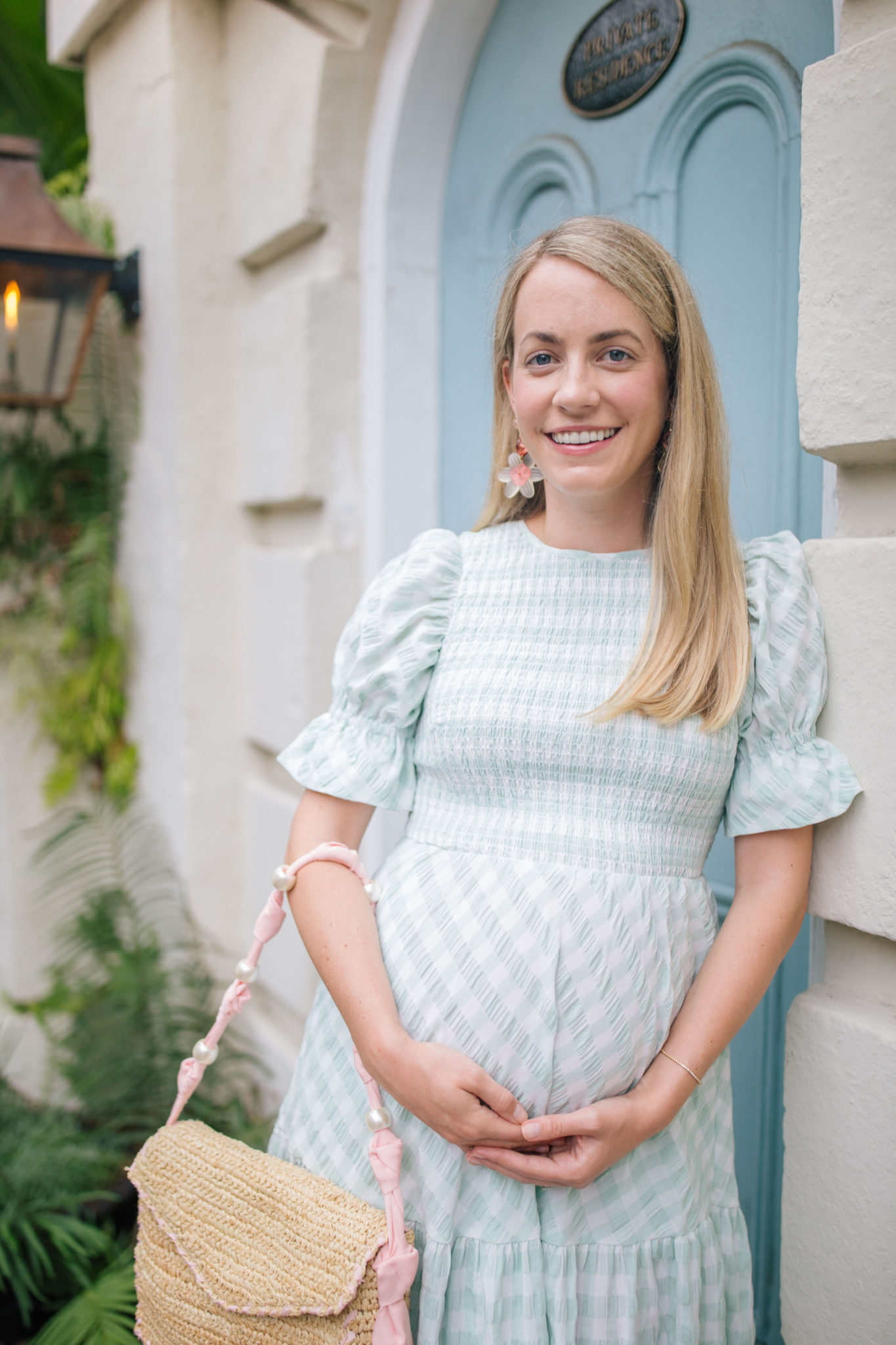 How To Wear A Gingham Dress   Rhyme & Reason