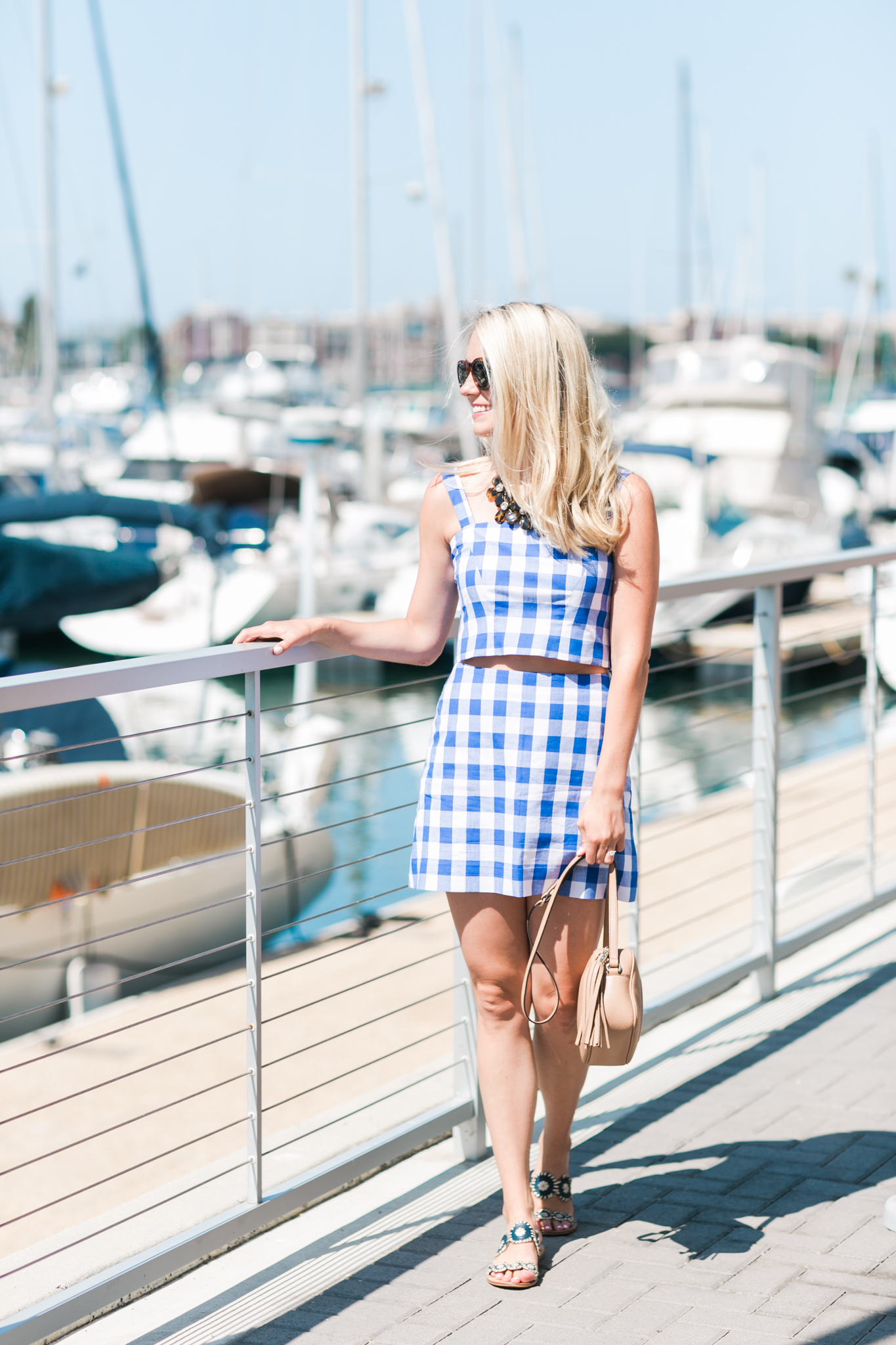 How To Wear A Gingham Dress- Gingham Sets   Rhyme & Reason