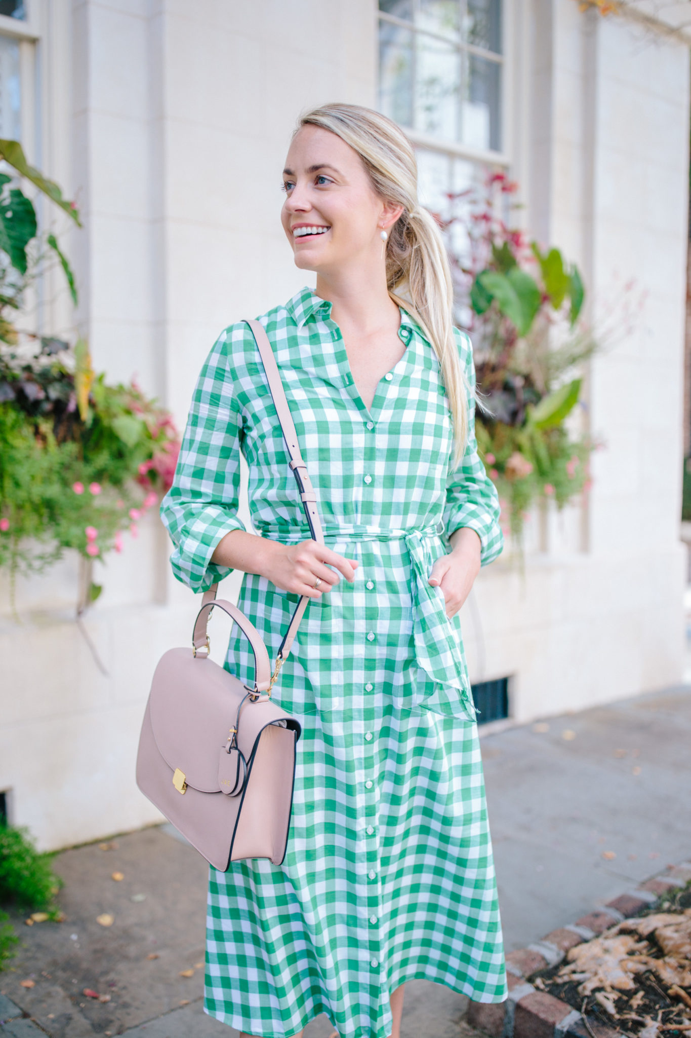 How To Wear A Gingham Dress- Gingham Shirtdresses   Rhyme & Reason