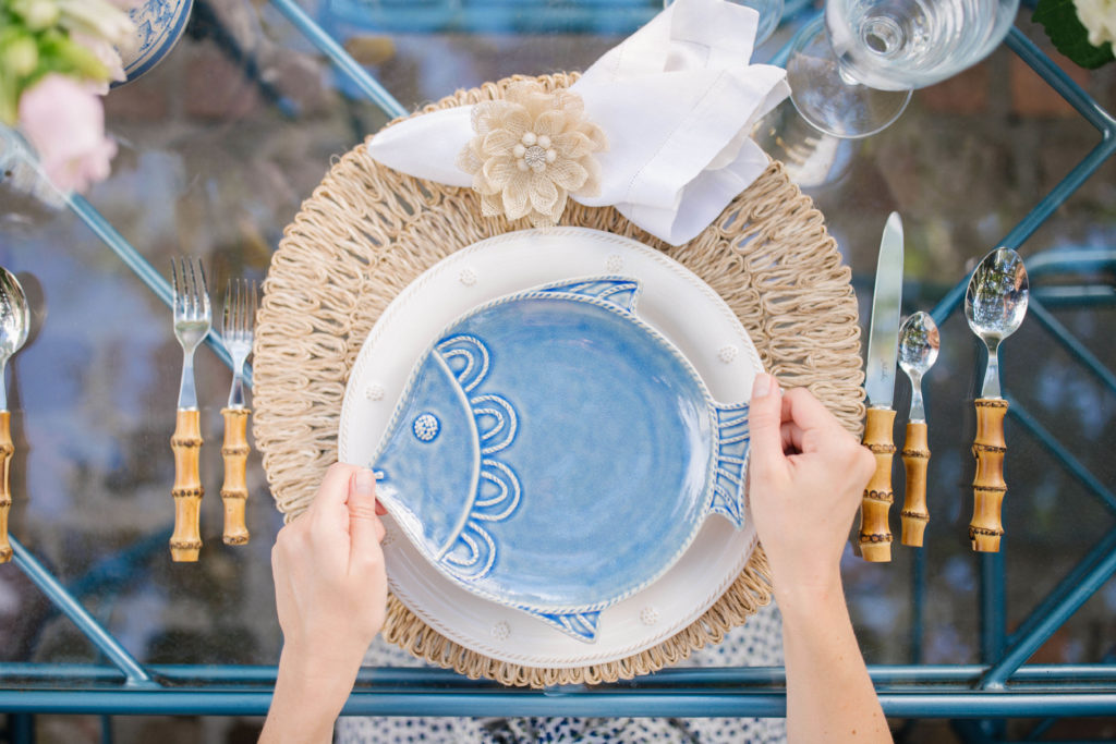 Coastal Table Decor Ideas - Perfect Beach Theme Dinnerware | Rhyme & Reason