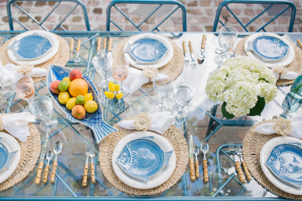 Coastal & Nautical Theme Table Setting Ideas | Rhyme & Reason