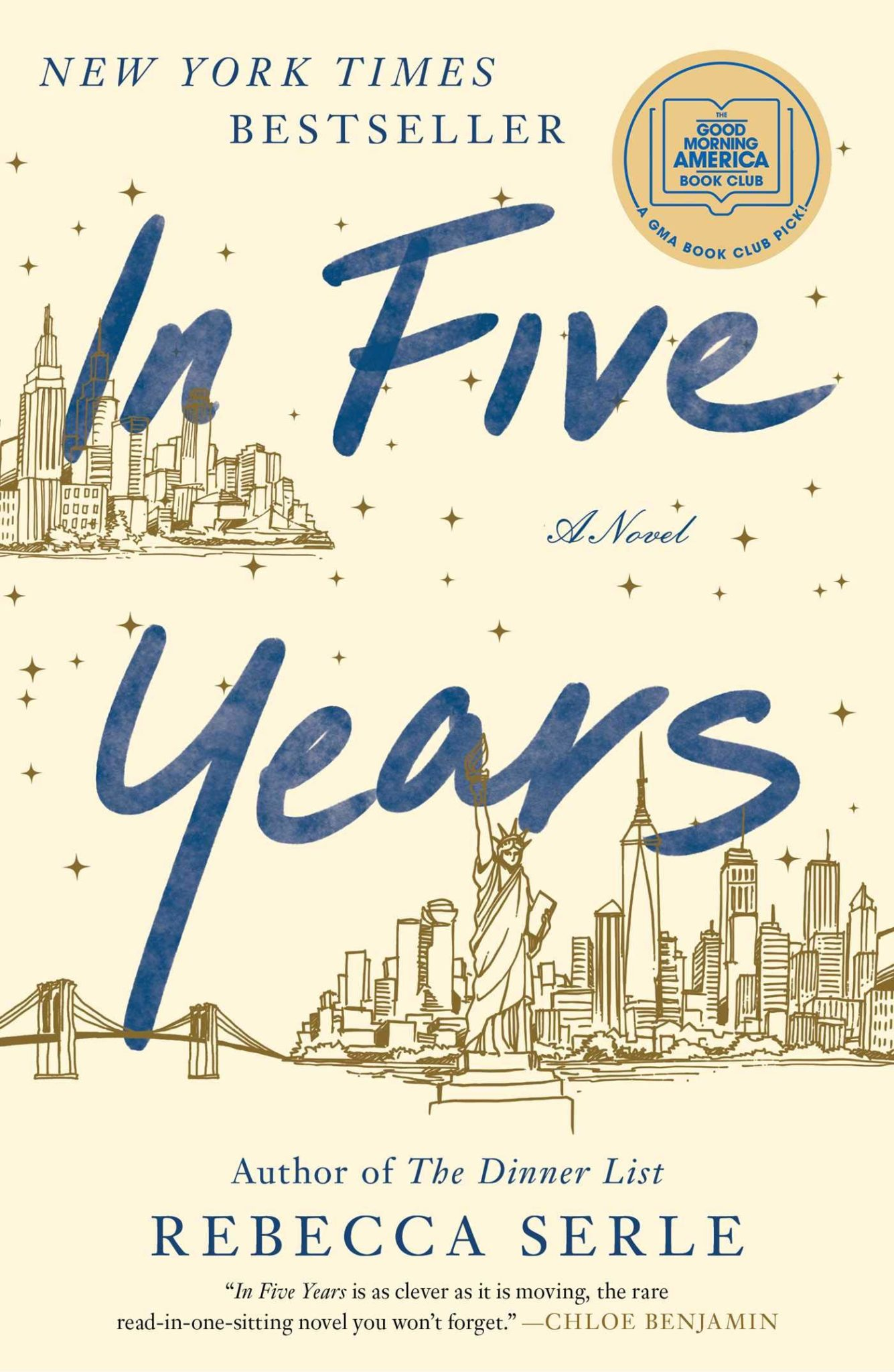 Books I Read in May, June, and July 2020: In Five Years by Rebecca Serle | Rhyme & Reason