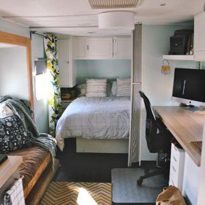 Travel trailer remodel 9