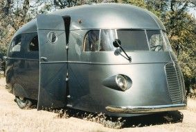 1937 Vintage RV Beautiful Motorhome Design - RVshare.com