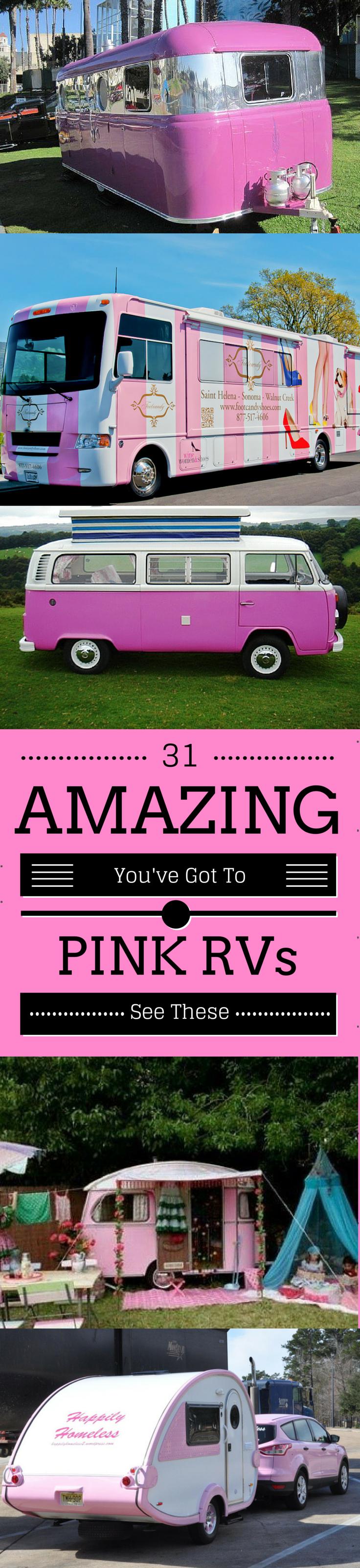 31 Pink RVs