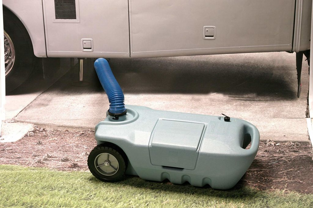 Portable RV Grey Water Tanks