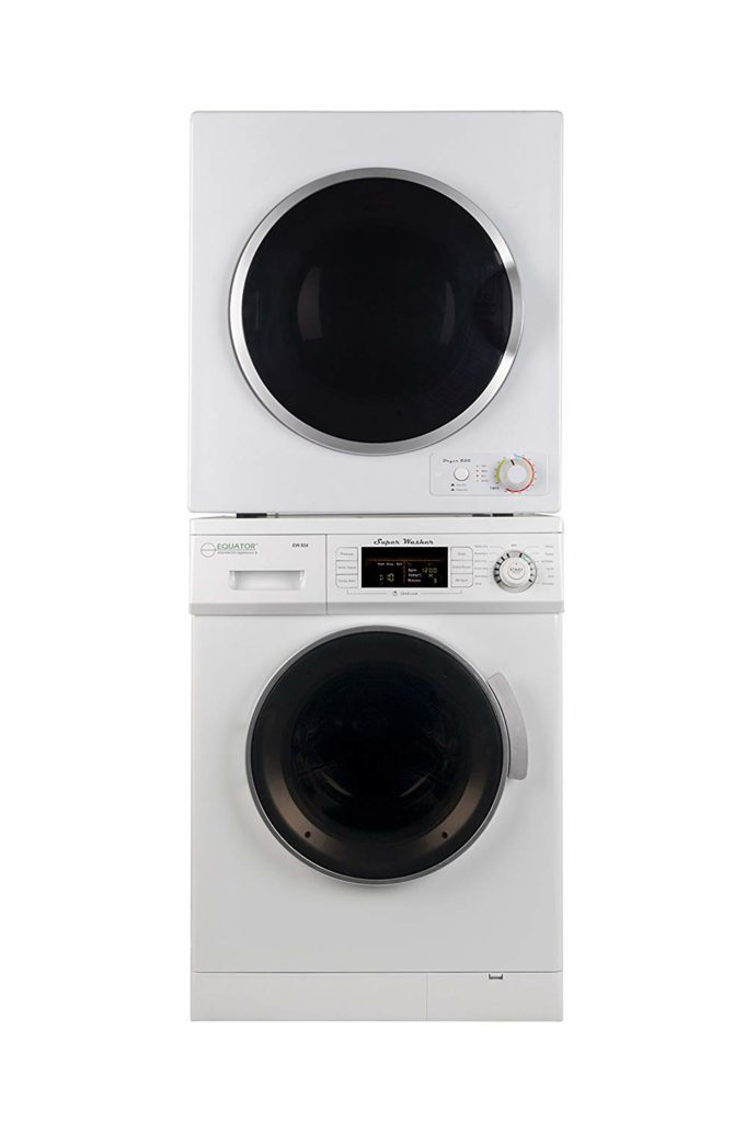 Is a RV washer and dryer stackable?
