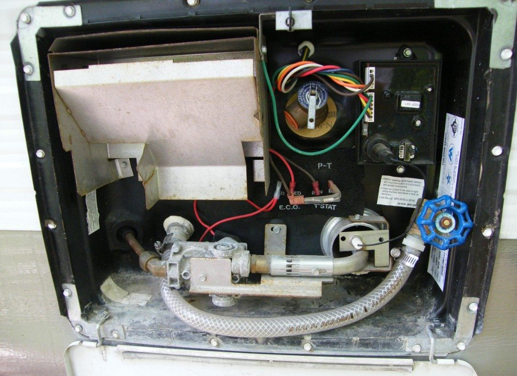 rv hot water heater troubleshooting and parts