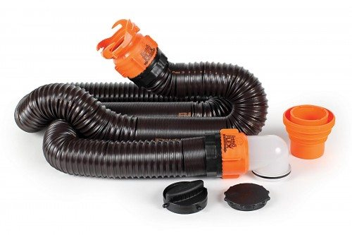 Rv Sewer Hose Storage Support Fittings And More
