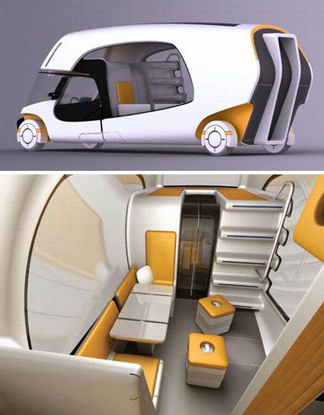 motorhome-modern-interior-design - RVshare.com