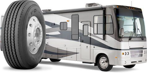 class a motor home tires read this before buying any. Black Bedroom Furniture Sets. Home Design Ideas