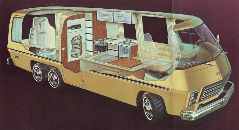 The 1974 GMC Motorhome: An Older RV With A Younger Heart