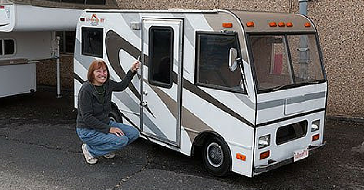 You Wont Believe Whats Inside This Tiny RV