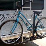 RV bike rack