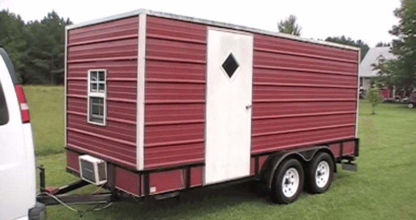 You Won't Believe This Spacious Utility Trailer Camper ...