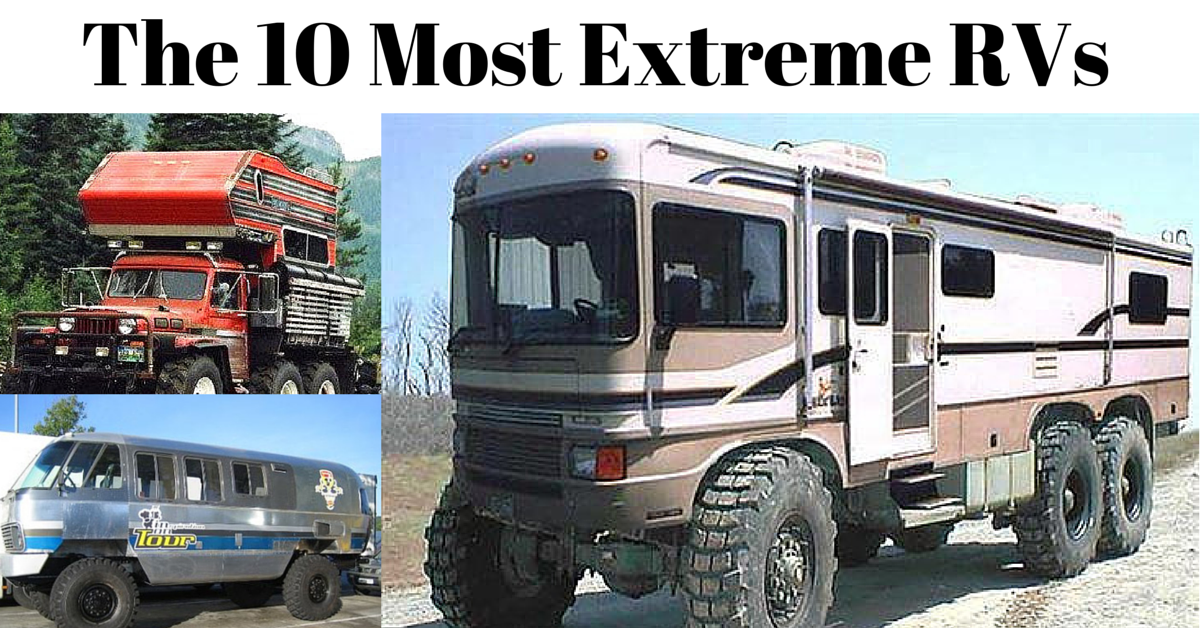 10 Most Extreme Monster Truck Rvs Rvshare Com