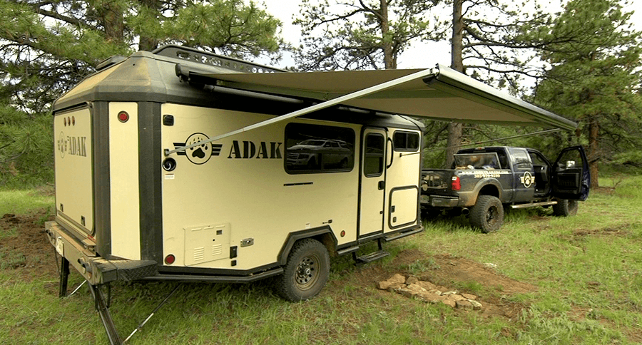 The Adak Camping Trailer Keeps You Cozy In The Boondocks
