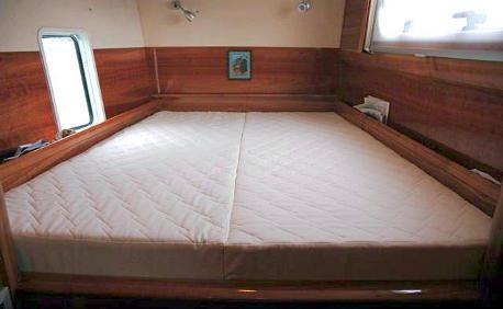An Rv Memory Foam Mattress, Bedding For Camper Queen