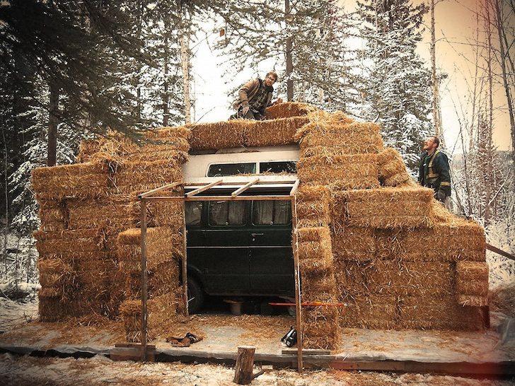 Surviving A Yukon Winter In A Dodge Tradesman Camper Van