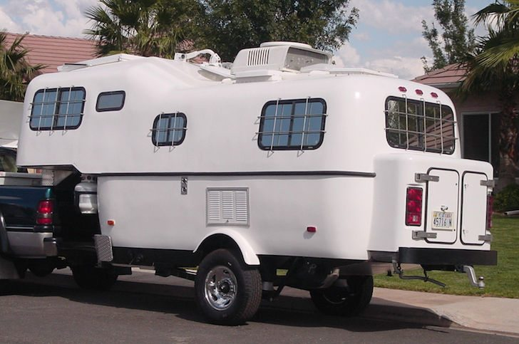 A Scamp 5th Wheel Trailer Turned Off Road Warrior