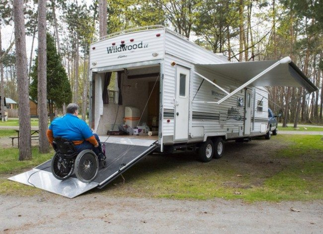 Used Handicap Travel Trailers For Sale