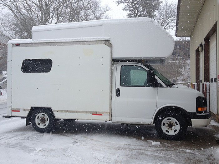 Kim Used A Cheap Uhaul Truck To Build Her Home Rvshare Com