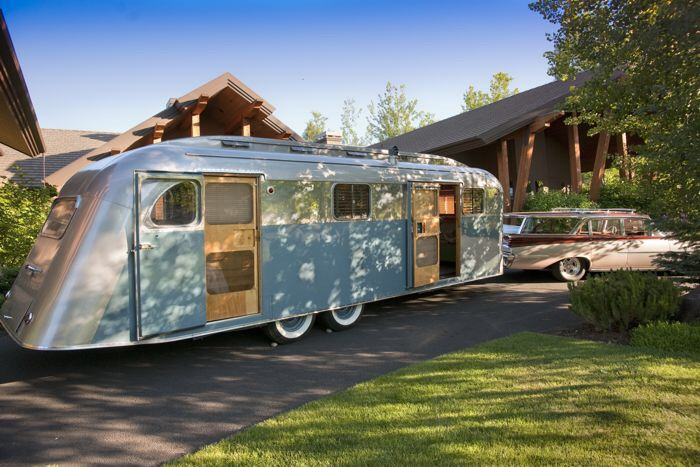 Vintage Trailer Restoration Not For The Faint Of Heart