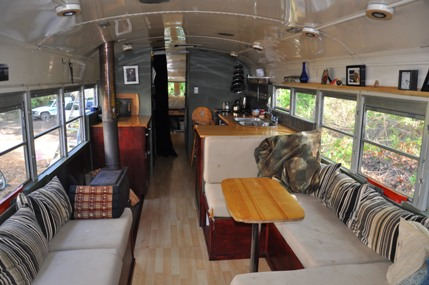 Old Truck For Sale >> School Bus Transforms into a Tiny Home For 5 - RVshare.com