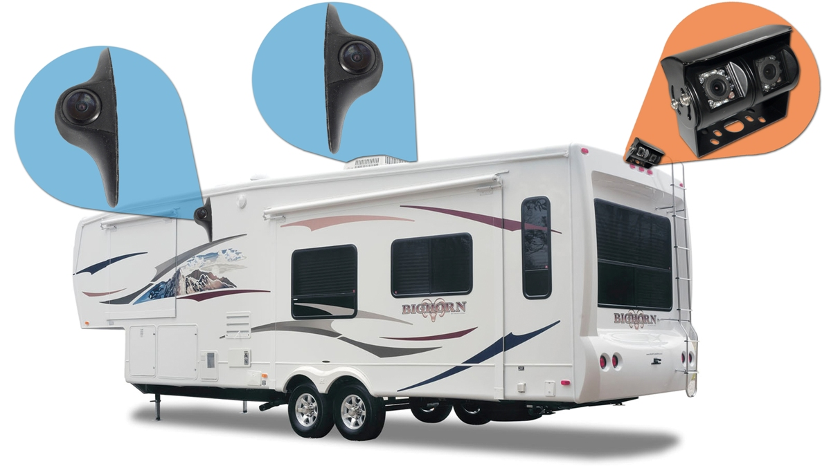 Wireless Backup Camera System For Travel Trailer