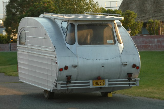 This 1947 Great Western Trailer Looks Space Age Rvshare Com