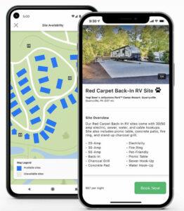 campspot mobile app