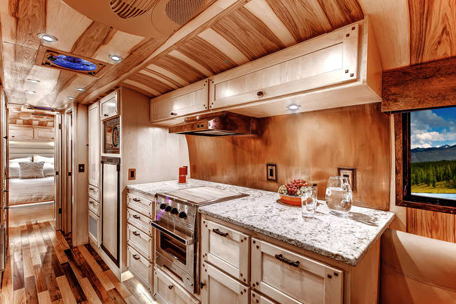 Vintage Airstream Countertops