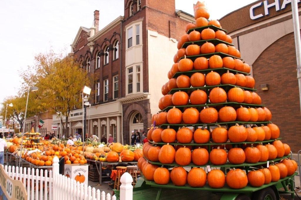 Pumpkin Show tower