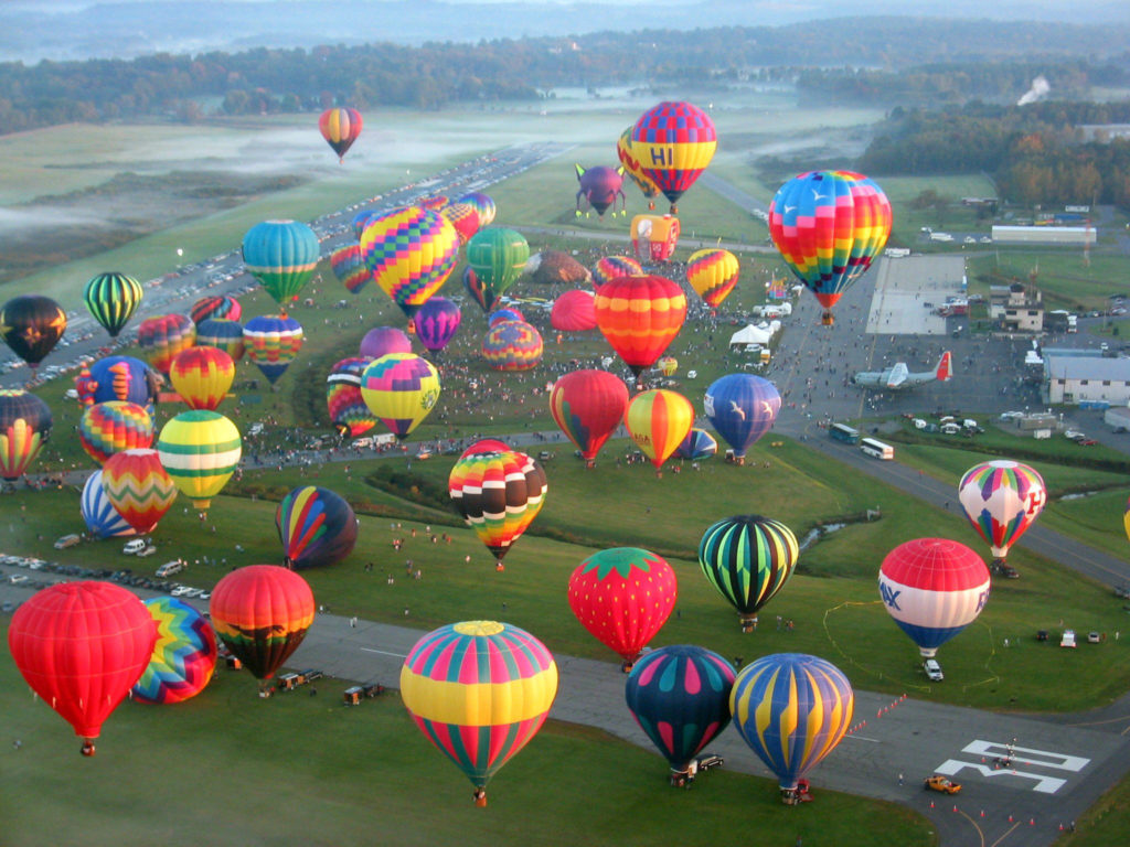 Balloon fall festival