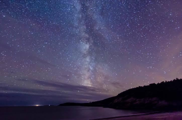 Maine night sky