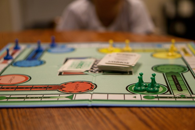 a close up of the board game Sorry