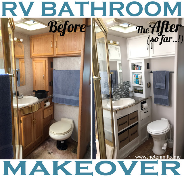 5 Must See Camper Bathroom Updates And Some Easy Tips
