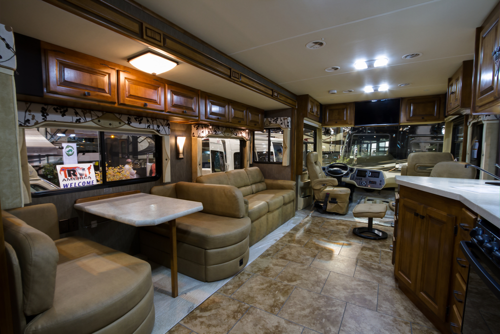 2 bedroom motorhome 7 luxury rv accessories to make your rig shine rvshare 10016