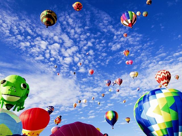 Balloons at Albuquerque Balloon Fiesta