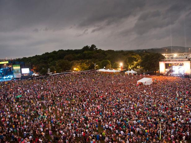 ACL music festival crowd